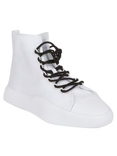 Bashyo Hi-top Sneakers in Grey-Grigio Sneakers For Sale, High Top Sneakers, Ankle Length, Lace Up, Grey, Leather, Shopping, Shoes, Fashion