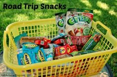 Road Trip Snacks {Eating on the Road with Kids} - Kids Activities Blog