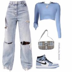 Baddie Outfits Casual, Indie Outfits, Teen Fashion Outfits, Retro Outfits, Stylish Outfits, Swag Outfits For Girls, Cute Swag Outfits, Teenager Outfits, Streetwear Fashion