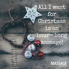 What is on your Christmas list this year? Friday Call ALaura Massage at Massage For Men, Massage Tips, Massage Benefits, Massage Room, Health Benefits, Massage Funny, Massage Quotes, Christmas Massage, Message Therapy