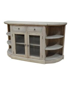 This Rounded Sideboard Table is perfect! #zulilyfinds