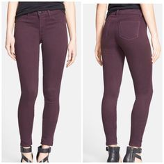 "Selling this ""J Brand 485 Skinny Jean, Dark Plum, 29"" in my Poshmark closet! My username is: kmadeoy. #shopmycloset #poshmark #fashion #shopping #style #forsale #J Brand #Denim"
