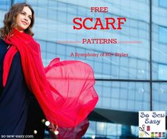 As the winter chill sets in the northern hemisphere, I thought it would be a great time of year to share some free scarf patterns that I have collected. Mug Rug Patterns, Sewing Patterns Free, Free Sewing, Clothing Patterns, Scarf Patterns, Sewing Blogs, Easy Sewing Projects, Sewing Hacks, Sewing Tutorials