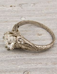 How Are Vintage Diamond Engagement Rings Not The Same As Modern Rings? If you're deciding from a vintage or modern diamond engagement ring, there's a great deal to consider. Antique Wedding Rings, Vintage Diamond Rings, Antique Rings, Vintage Engagement Rings, Vintage Rings, Diamond Engagement Rings, Vintage Jewelry, Antique Jewelry, Gold Jewelry