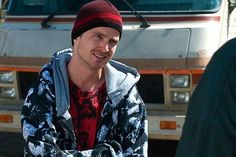 "JESSE PINKMAN. Walter White's partner and former student. Most hospitalized character on Breaking Bad. Takes a licking and keeps on ticking. Won't back down. Favorite phrase: ""Skills!"" Crew: Skinny Pete and Badger (Brandon Mayhew) and Combo (deceased). BOOYA!!"