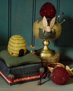 Love these pincushions by Cheswick Company!
