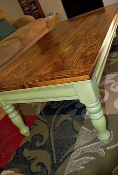 Coffee table refinish