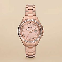 Fossil watch.. i realllly want this!