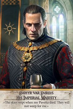 Emhyr var Emreis His Imperial Majesty (Gwent Card) - The Witcher 3: Wild Hunt