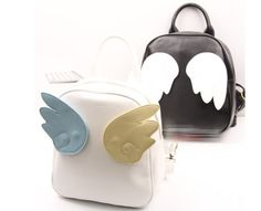 """Wings Angel BackpackfromCute Kawaii 10% off with code """"world-of-asian-style"""" !"""
