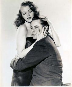 """Glenn Ford y Rita Hayworth en """"Gilda"""", 1946"""