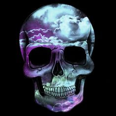 Space skull !!! - NeatoShop