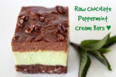 Chocolate Peppermint Cream Bar