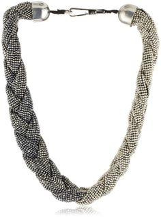 Beaded Plait Necklace