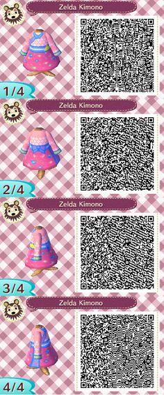 Animal Crossing New Leaf Bunny Path Qr Codes T