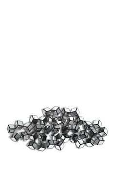 Metal Mirror Wall Decoration - Silver | This house NEEDS some additional craziness! I love this thing.