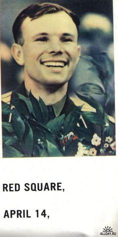 Юрий Алексеевич Гагарин - Yuri Gagarin - Легенда СССР