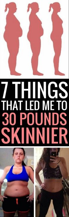 7 steps to 30 pounds lighter.