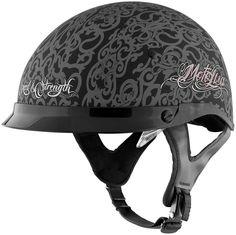 Speed-Strength-Womens-SS400DVD-Moto-Lisa-Half-Helmet