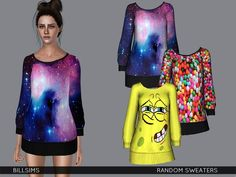 Random Sweaters by Bill Sims - Sims 3 Downloads CC Caboodle