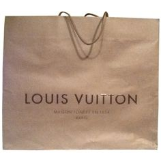 Pre-owned Brown Louis Vuitton Tote ($45) ❤ liked on Polyvore featuring bags, handbags, tote bags, fillers, accessories, brown, essentials, louis vuitton handbags, brown tote bag and pre owned handbags