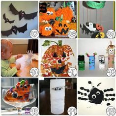 Easy Halloween Crafts For Adults #8 - Kids Halloween Craft Ideas