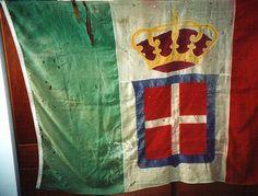 """Bandiera di guerra del 55° Reggimento Fanteria """"Marche"""" con stemma - 55° Reggimento Fanteria """"Marche"""""""