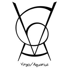 """""""Virgo/Aquarius"""" sigil  requested by anonymous"""