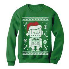 Tcombo Merry Christmas Script Xmas Santa Claus Unisex Hoodie Sweatshirt