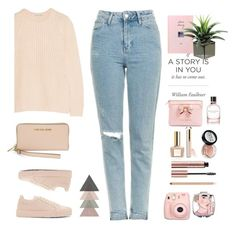 """Untitled #512"" by jovana-p-com ❤ liked on Polyvore featuring Topshop, Bottega Veneta, Fujifilm, Ted Baker, Beautycounter, Jil Sander, Autumn Cashmere and Michael Kors"