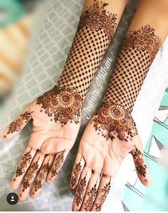 The most astonishing and staggering Mehndi designs for hands