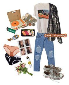 """8. Tangerine Dreams"" by thatssokalea on Polyvore. #fashion #outfit #90sfashion #90s #grunge #tumblr"