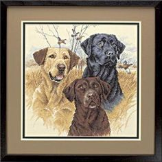 Great Hunting Dogs Cross Stitch Kit
