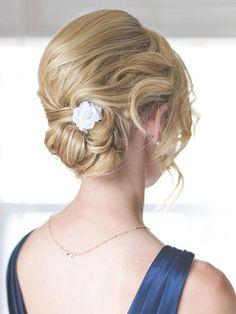 24 Romantic Updo Ideas for Bridesmaids   TheKnot.com