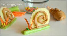 Fruit And Veggie Snail