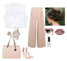 """Street outfit"" by fatimamartinsdias on Polyvore featuring Antipodium, Bebe, Ted Baker, Topshop, MICHAEL Michael Kors and Lime Crime"