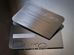 Metal Business Card Design