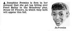Josephine Premice Has Billing Demands - Jet Magazine, Apri… | Flickr