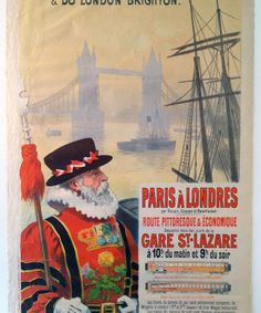Paris A Londres (René Péan)