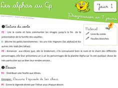 Aperçu miniature d'un élément Drive Google Drive, Activities, Miniature, Grande Section, Ms, Teaching French, Teaching, Reading Activities, Alpha Letter
