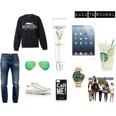 """Back to School"" by johannawallasvaara on Polyvore"