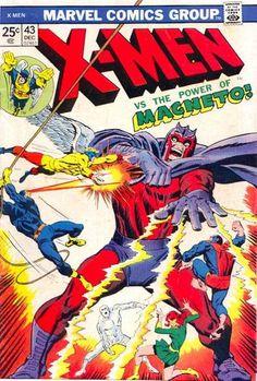 Uncanny X-Men # 43 by John Buscema