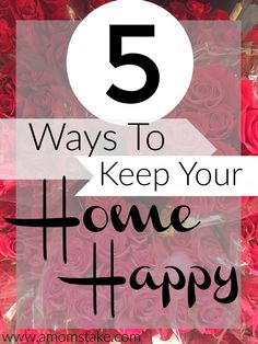 These 5 things make me smile and make my home a happier place! #krogerRoses #ad @krogerco