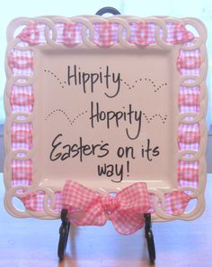 Easter wishes on The Write Plate!  www.writeplate.com