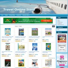 Travel Online STORE - Make Money with Dropship Business Website! #business #workfromhome #sponsored
