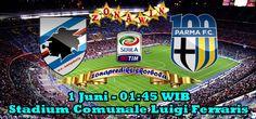 Prediksi Sampdoria vs Parma 1 Juni 2015