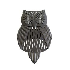 """Artisan Owl GoSmart™ Clip On. Rustic owl adds seasonal whimsy to your GoSmart™ Mobile Fragrance Holder, sold separately. Metal. 3½""""h, 2½""""w.  Item #:P92553"""