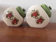 Pots de verre fraise