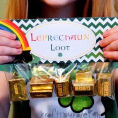 Leprechaun Loot St. Patrick's Day Goodie Bag by KraftsbyKaleigh, $3.00