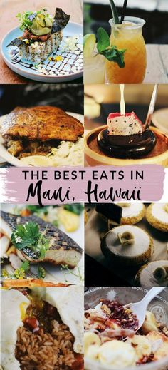 The 25 Best Restaurants in Maui - Maui Travel- Traveling to Maui and wondering where's the best coffee, brunch, romantic dinner, or affordable eats? Here's the 25 best restaurants in Maui. The 25 Best Restaurants in Maui La Jolla Mom Trip To Maui, Hawaii Vacation, Maui Hawaii, Vacation Ideas, Vacation Pics, Dinner Places, Brunch Places, Kaanapali Maui, Oahu
